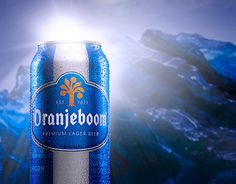 """Check out new work on my @Behance portfolio: """"Blu Ice Beer"""" http://on.be.net/1ithbHj"""