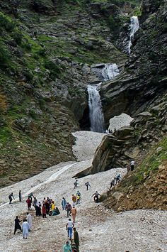 Waterfall chitral Valley Pakistan
