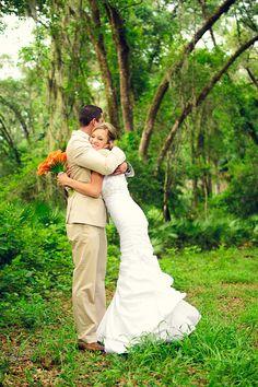 Katelyn & Isaac's Orange, Hot Pink & Aqua Wedding| Photography by: alexandcammy.com