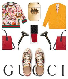 """Presenting the Gucci Garden Exclusive Collection: Contest Entry"" by ilvermornyserpent ❤ liked on Polyvore featuring Gucci and gucci"