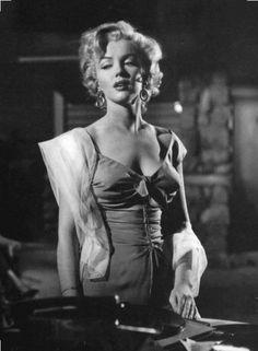 """Marilyn Monroe in """"Niagara"""" (Henry Hathaway, 1953)."""