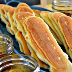 Buffet Pancake Dippers by LadyBehindTheCurtain