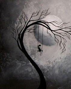 Surreal Fantasy Art Print Set Heartache and Poetry 53 by Jaime Best from BestArtStudios Sabine Sina Nitsch Sad Drawings, Dark Art Drawings, Art Drawings Sketches, Abstract Pencil Drawings, Unique Drawings, Fantasy Kunst, Dark Fantasy Art, Depression Artwork, Sad Paintings