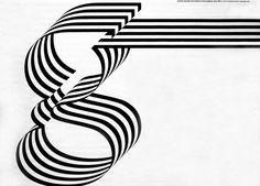 G ... op-art kinetic typography