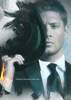 Dean with fedora fan art