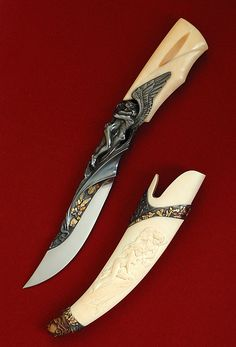 Arpad Bojtos Knives | Amor and Psyche
