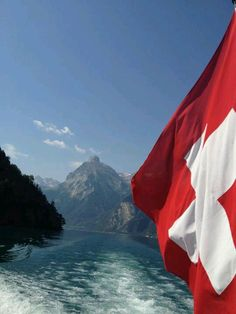 SWISS FLAG. Proudly of Swiss descent 1/2 and 1/2 of Irish descent plus American by birth.  You cannot get much better than that.