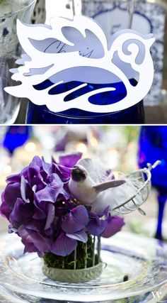 Set your garden wedding table with natural style when you use our Laser Expressions Love Bird Damask Folded Place Cards: http://www.weddingstar.com/product/laser-expressions-love-bird-damask-folded-place-card