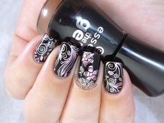 Born Pretty Store plate revview BP-56 nail art http://ordinarymisfit.com/2015/06/24/born-pretty-store-stamping-plate-review-bp-56/