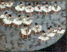 Pierre Bonnard(1867-1947), Le Ballet, vers 1896