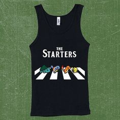 The starter Pokemon Tank Top for Men also for Women, Best Seller Shirt ($18) ❤ liked on Polyvore featuring tops, shirts, shirts & tops and cotton shirts