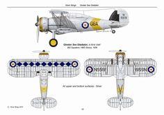 Gloster Sea Gladiator HMS Glorious 1939