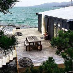 MCM HOUSE Satellite Island Tasmania
