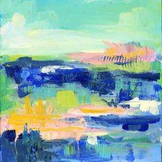 FOLLY DAY  Medium: Mixed Media on Gallery Depth Canvas 1.5 Size: 8 x 8 x 1.5 Price: $60.00 USD