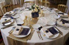 Mariage Art Deco - Navy & Gold - Dessine-moi une etoile (Design et Papeterie) - Aude Rose (Fleurs)