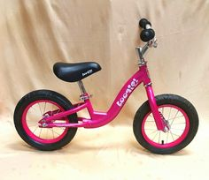 Balance bike for toddlers.
