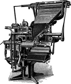 My maternal grandfather was a linotype operator, and I loved visiting the printing shop where he worked.  He was very fast and skilled at his trade.