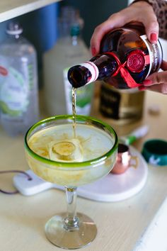 Simple and refreshing - The Cadillac Margarita Spritzer