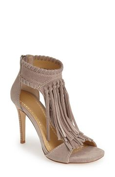 Chinese Laundry 'Santa Fe' Suede Fringe Sandal (Women) available at #Nordstrom