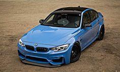 2016 BMW F80 M3 The return of the Laguna Seca Blue