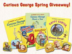 10 Winners will receive a $29.95 Curious George bundle with a Egg Hunting DVD, Curious George: Season 9 DVD, Happy Easter, Curious George, Curious George Plants a Tree, Curious George at the Baseball Game, the Curious George Adventure iOS App bundle,...