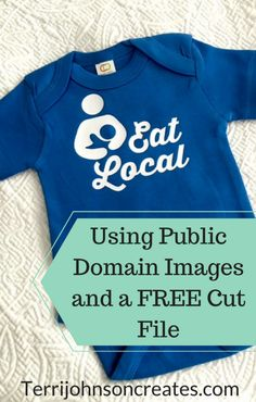 Grab this FREE Cut File & learn about images in Public Domain