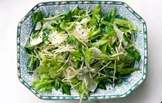 Pick firm, bright-green celery stalks with lots of leaves for this refreshing dish from The Bristol in Chicago.