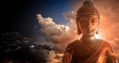 3 HOURS of Spiritual Buddhist Meditation Music for Positive Energy w/ Binaural beats & Isochronic Tones Theta State is a state of very deep relaxation; Zen Wallpaper, Photo Wallpaper, Buddhist Meditation Techniques, Golden Buddha, Buddhist Practices, Buddha Zen, Thai Art, Buddhist Art, Meditation Music