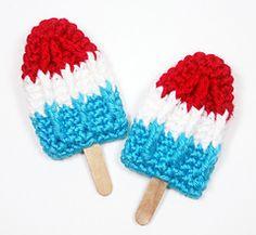 Crocheted summer Popsicle pattern on Ravelry