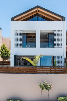 fos villa in Chania is brand new designed villa for up to 10 persons with pool.Fosvilla is located at the entrance of Galatas village distance from the centre of Chania city and enjoys views of the Mediterranean sea and Chania town. Mediterranean Sea, Crete, Entrance, Pergola, Villa, Houses, Outdoor Structures, Vacation, Mansions
