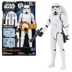 Star Wars Rogue One Electronic Stormtrooper Action Figure - Hasbro - Star Wars - Action Figures at Entertainment Earth [affiliate-link]