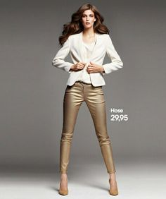 Pantalones dorados