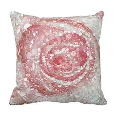 Rose - Blush Pink Throw 16*16 pillow case cover Lovepillow