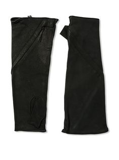 60% OFF Alexandre Plokhov Men's Spiral Zip Fingerless Gloves