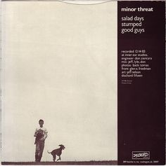 """Minor Threat - Salad Days 7"""" one of the greatest e.p.s ever recorded in rock history"""