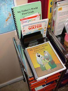 Heatheraine Trim's Blog: Preparing and Using MFW 1st Grade