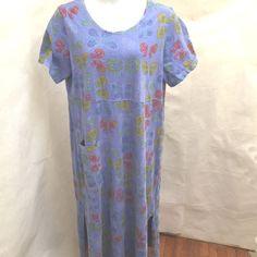 0b1768e8ba0 1X 2X 3X Plus Size Womens Long Maxi T-Shirt Dress w  Pockets Short Sleeve V- Neck