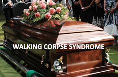"""sixpenceee:  """" Walking corpse syndrome (cotard's syndrome) is a rare mental disorder in which a person believes that they are dead.  For example, a British man, Graham woke up nine years ago convinced he was no longer alive although he was still..."""