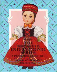 Paper Dolls~The Brunette International - Bonnie Jones - Picasa Albums Web