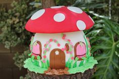 Photo 1 of 116: woodland fairy / Birthday Talias Woodland Fairy & Toadstool Party | Catch My Party