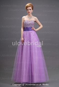 Clingy Alluring Strapless Tulle Sequined