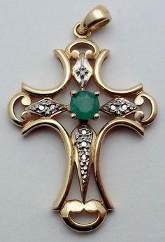 Resultado de imagem para tourmaline silver cross pendant