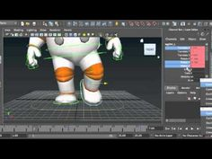 3D Animation Masterclass: Basic Walk Cycle Tutorial