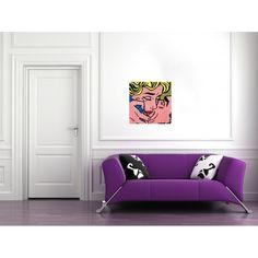 LICHTENSTEIN - Kiss #artprints #interior #design #art #print #iloveart #followart #artist #fineart #artwit  Scopri Descrizione e Prezzo http://www.artopweb.com/autori/roy-lichtenstein/EC16407