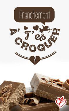 L'amour au goût du Jour ! Pour la Saint Valentin, partagez ces petits mots d'amour....
