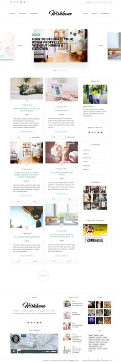 Wishbone is clean & powerful WordPress blogging theme with 5 blog and header layouts. #blog #blogger #writer Download Now!