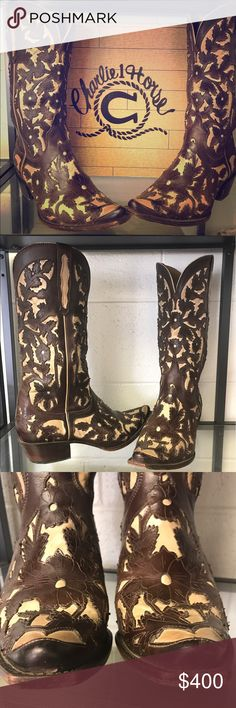 Spotted while shopping on Poshmark: Charlie 1 Horse by Lucchesse Ladies Cowboy boots! #poshmark #fashion #shopping #style #Lucchese #Shoes