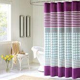 Found it at AllModern - Intelligent Design Lacey Polyester Shower Curtain