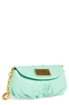 Minty freshness for spring! Love the new Marc by Marc Jacobs crossbody flap bag.