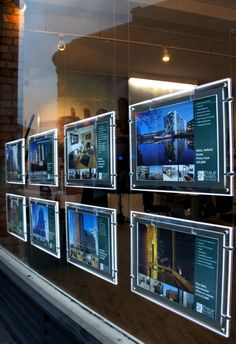 Much more effective #RealEstate #InteractiveWall - digital is the only way to go #TouchMagix www.touchmagix.com